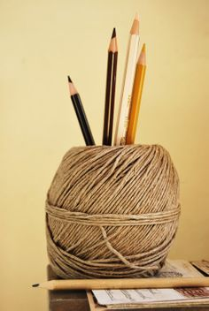1000 Images About Diy Pencil Holders On Pinterest
