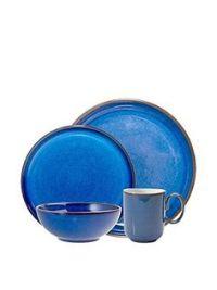 Vintage Denby Midnight Plate - Cobalt Blue Dinner Plate ...