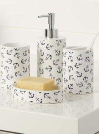 Nautical Bathroom Accessories on Pinterest | Nautical ...