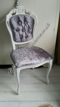 Vintage Chic Home occasional chairs on Pinterest ...