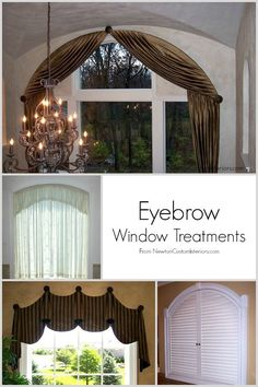 Arched window treatment ideas bottom middle pic for two