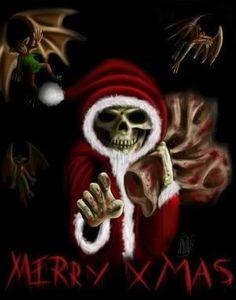 Gnome Animated Wallpaper Evil Santa On Pinterest Bad Santa Zombies And Scary