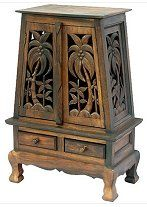 Wood Carved Panels - Cabinets - Bird of Paradise   Carved ...