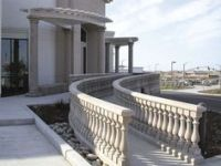 cement ballisters and railing   Home Balustrades Balusters ...