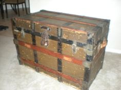 1000+ images about Victorian Trunks on Pinterest | Steamer trunk, Trunks and Victorian