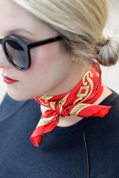 Neck Scarf - A Lacey