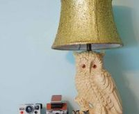 Glitter Lampshade on Pinterest | Diy Lamps, Lamp Shade ...