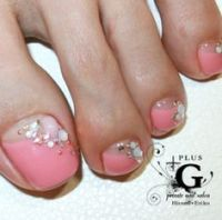 Toes nail beauty 1 on Pinterest | Toenails, Pedicures and ...