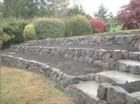 retaining wall ideas for sloped backyard | Yard & Garden ...