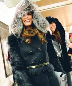 big fur hat floppy s