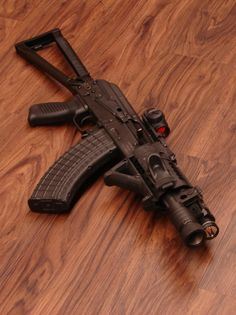AK-47 SBR with Aimpo