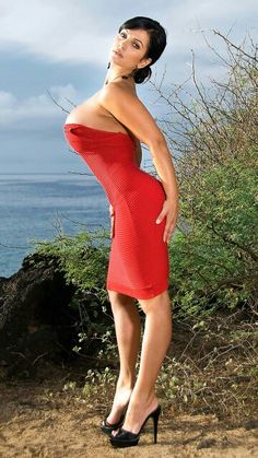 sarenna lee hot dress