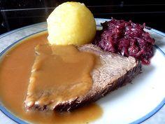 German Beef Roast or