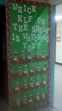 christmas+classroom+door+decorations | Run Teacher Run ...