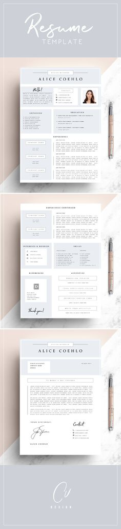 Resume Stationery - resume paper size