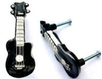 Guitar Cabinet Drawer Knobs Pulls Music Theme Hardware by ...