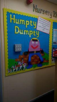Humpty Dumpty's Word Wall classroom display photo - Photo ...