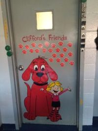 Cute clifford Project for beginning of the year ...