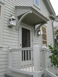 front door overhang | small house ideas | Pinterest ...