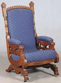 Eastlake Rocker on Pinterest | Chair Redo, Rockers and ...