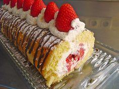 Strawberry Cream Rol