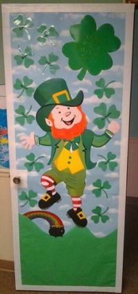 st patricks day Classroom Door Decorations