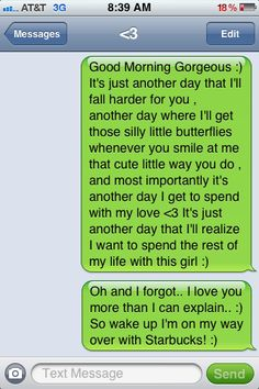 Romantic things to text a girl