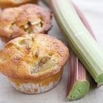Rhubarb Muffins. All