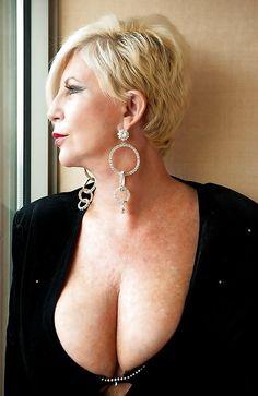 grandma cleavage oops