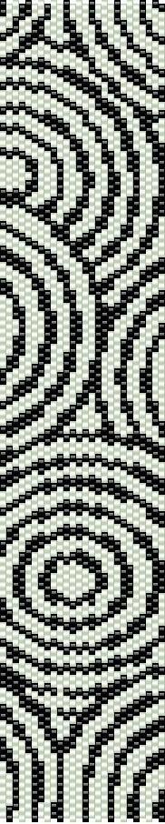 bead crochet rope graph paper