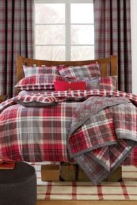 Red And Grey Plaid Bedding | www.pixshark.com - Images ...