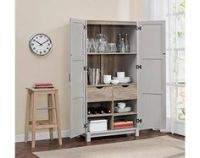 Storage cabinets, Canadian tire and White p on Pinterest