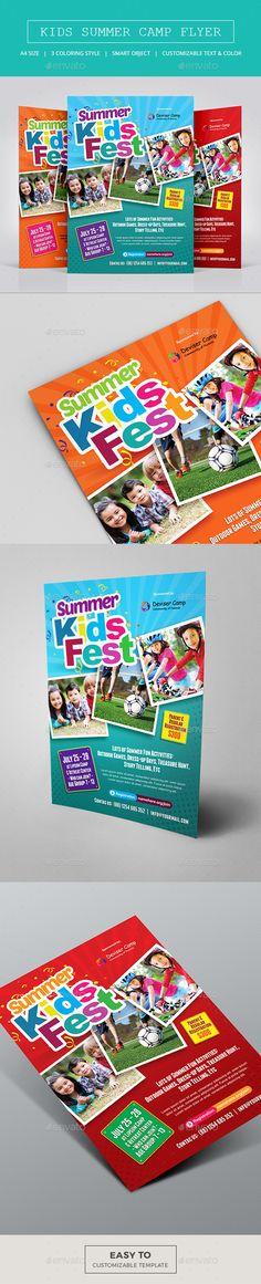 Free-Kids-Summer-Camp-Flyer-PSD-Template-8585-Designyep Free - camp flyer template
