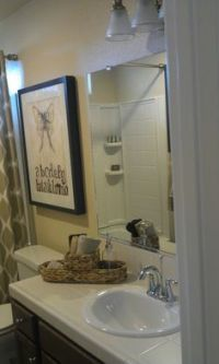 Model home. | Models and Master bathrooms