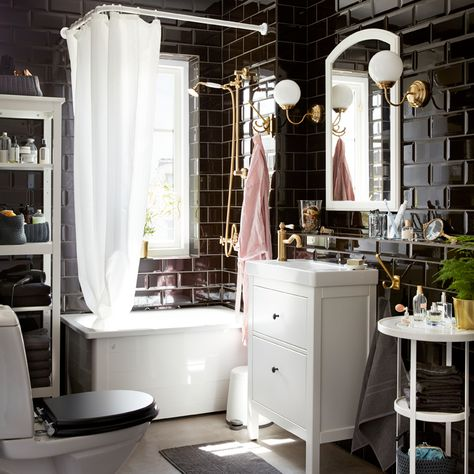 137 Best IKEA Badezimmer   Spa Images On Pinterest Bathroom   A New  Beginning Badezimmer