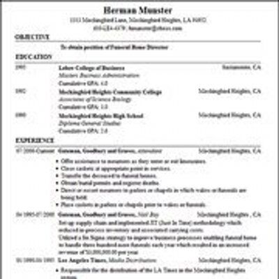 Printable Resume Templates For Free Sample Resume And FreeReally - really free resume templates