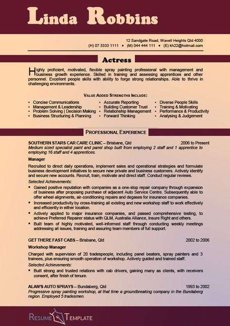 Car Painter Sample Resume Professional Auto Body Painter Templates