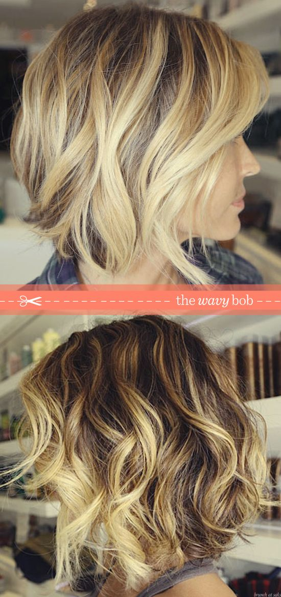 the wavy bob–more inner tug to cut my locks!! (but this would require a lot of