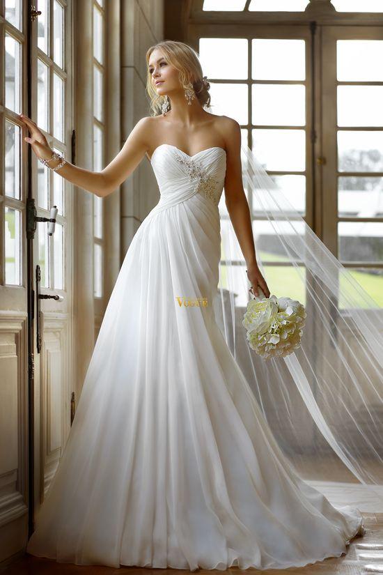2013 Wedding Dresses A Line Wedding Dresses Beach Wedding Dresses Vogue Wedding
