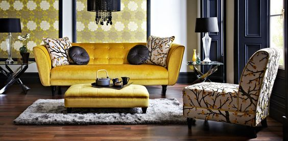 Harveys Sofa Bed Sofas, Mustard And Gold Sofa On Pinterest