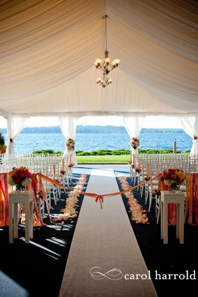Seattle area wedding venue on Lake Washington - Woodmark ...