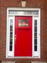 Sherwin williams Positive Red perfect front door color ...