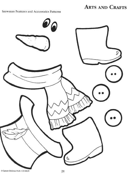 Pinterest u2022 The worldu0027s catalog of ideas - snowman template