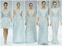 Elie Saab's fairytale bridesmaids in icy blue... Blair ...