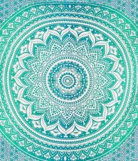 Ombre Mandala Tapestries Hippie Wall Tapestries by ...