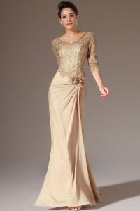 Mother Of The Bride Dresses Floor Length Champagne ...