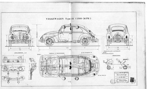 1968 volkswagen beetle sedan