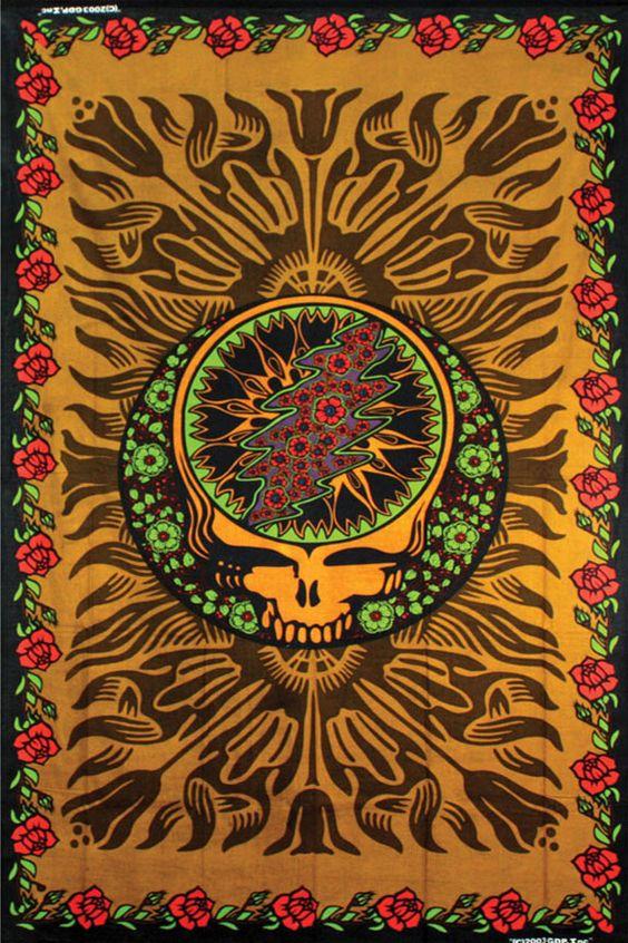Phish Hd Wallpaper Hippie Tapestries Grateful Dead Music Band Indian