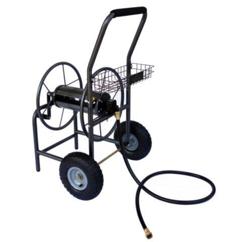 GroundWork Hose Reel Cart, 260 ft.