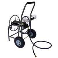 GroundWork Hose Reel Cart, 260 ft.